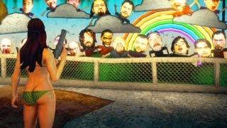 Easter Egg no Saints Row IV: Matando os Produtores + Arma MiB - gameplay 1080p xbox 360 / PS3
