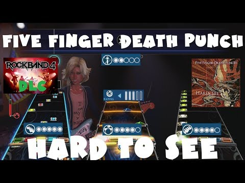 Five Finger Death Punch - Hard to See - Rock Band 4 DLC Expert Full Band (July 12th, 2018)
