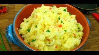 Aloo Choka (caribbean Garlic Mashed Potatoes).