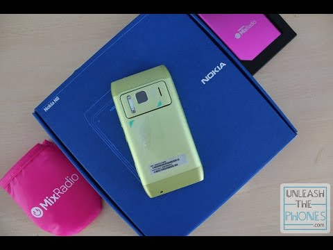 Retro Unboxing - The Nokia N8