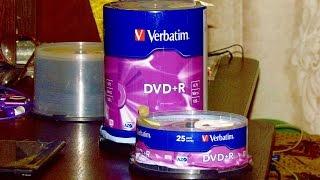 Диски Verbatim DVD+R 4,7 GB 16x Cake Box 100 шт из ROZETKA(, 2015-12-16T20:45:31.000Z)