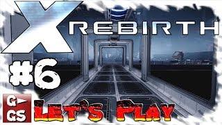 Lets Play X Rebirth #6 Drohnen für das Volk Gameplay Space Simulator deutsch HD kommentiert
