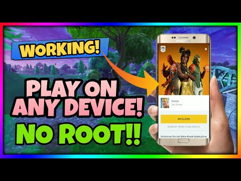 Play Fortnite Android on unsupported device - Tutorial | Easiest Way
