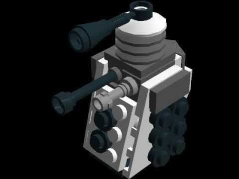 How To Make A Lego Dalek Youtube