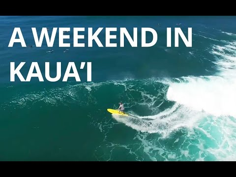 A Weekend In Kauai - Drone And Osmo Footage From Hawaii
