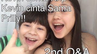 Kevin cerita kenapa Kevin Cinta sama Prilly Latuconsina / Q&A Indonesia Kevin & Anya