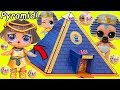 Pharaoh Babe Unicorn LOL Surprise Dolls Playmobil Pyramid For Lil Punk Boi Sisters Wedding JOJO SIWA
