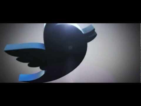 Element 3D Animation Test - Twitter Logo