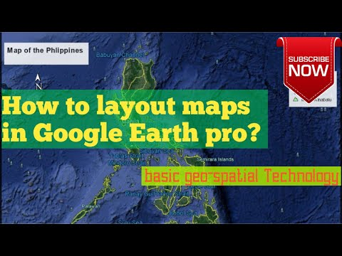 Map Layout In Google Earth Pro