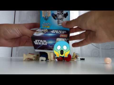 Ускоренная сборка китайских фигурок Lego Star Wars