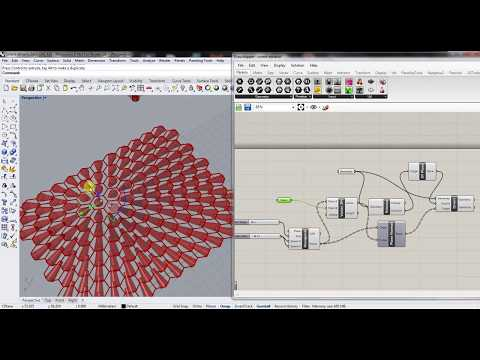 Rhino 3D CAD Grasshopper - Orient objects to a Point
