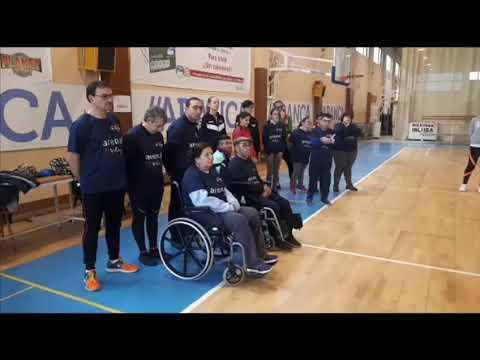 El proyecto inclusivo Voley-In echa a andar en el Anexo al Pazo de Lugo
