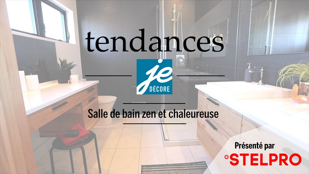 tendance salle de bain zen et chaleureuse youtube. Black Bedroom Furniture Sets. Home Design Ideas