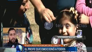 Download Video El profe que ayudó a bailar a su alumna – Telefe Noticias MP3 3GP MP4