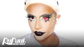 Denali's Yellow Python Look | Ruvealing the Look | RuPaul's Drag Race S13