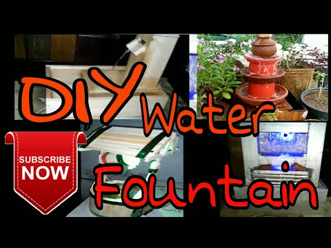 4 Best Water Fountain Review | DIY | Aj paper & wooden crafts
