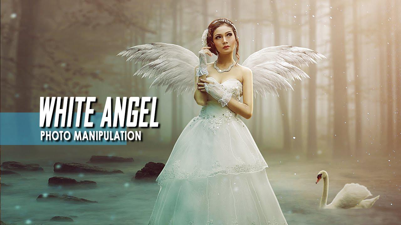 Photoshop Photo Manipulation Tutorial The White Angel Youtube