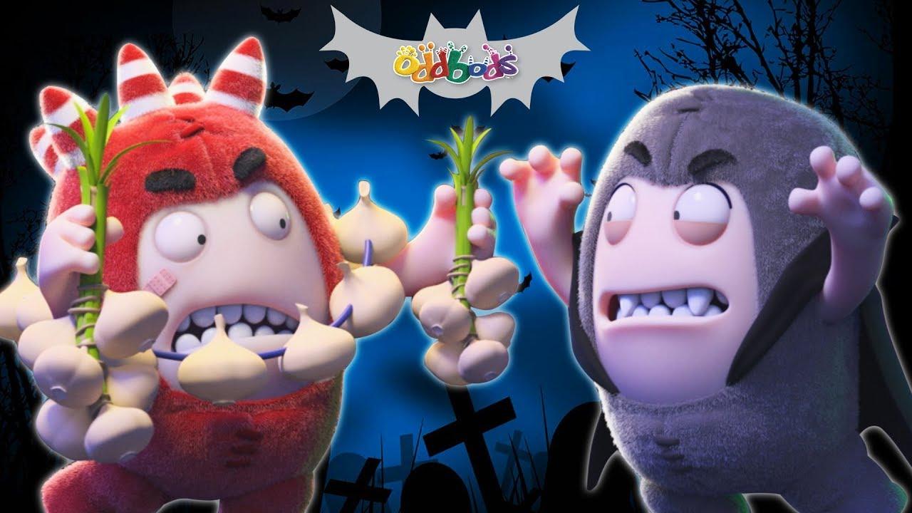 Oddbods | Spooky Ride | Funny Halloween Cartoons For Children