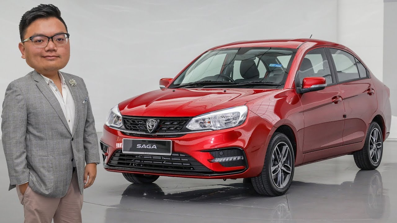 First Look 2019 Proton Saga Facelift From Rm32 800 Youtube