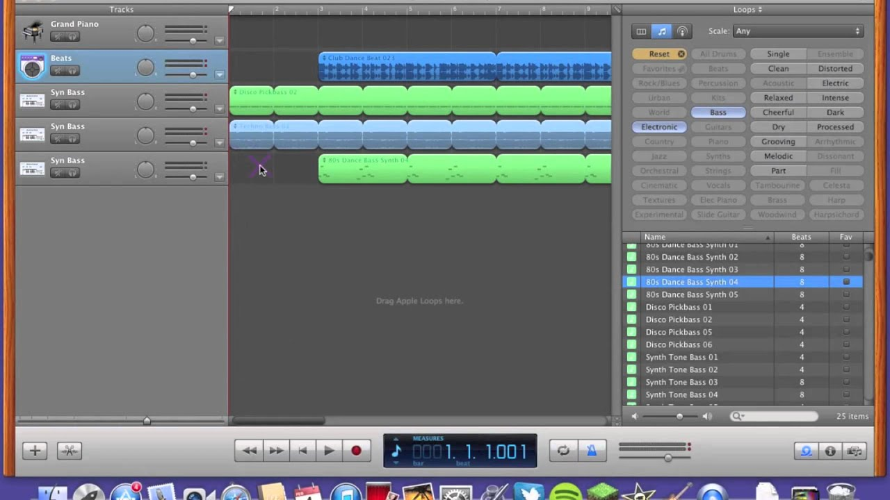 How to write a song on garageband for mac