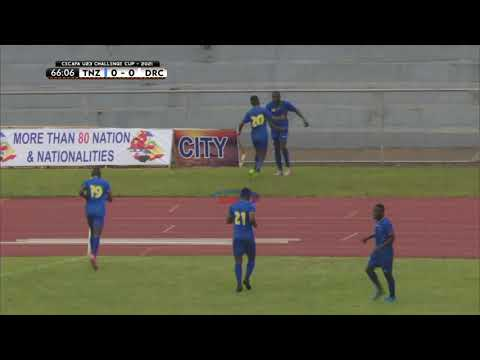 Goli la Lusajo | Tanzania 1-0 DR Congo | CECAFA U23 Challenge Cup 21/07/2021