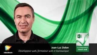 Les fondamentaux d'Excel 2016  - trailer | video2brain.com