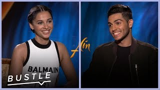 Naomi Scott & Mena Massoud Play Disney Movie Trivia | Bustle Cuts