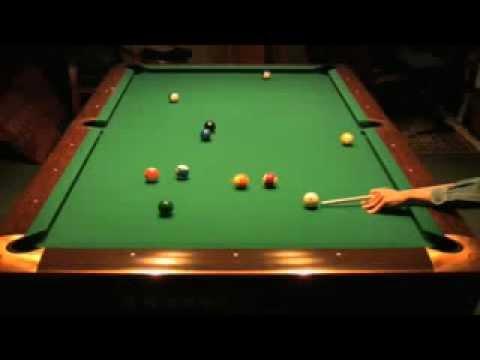 Pool 8-ball ( sọc trơn) : Một cơ dọn bàn