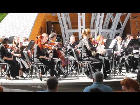 Dominica на концерте классической музыки в парке Сокольники