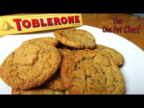 Toblerone Cookies | One Pot Chef