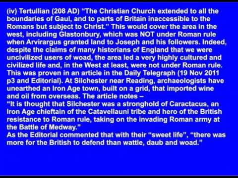 Joseph of Arimathea and Jesus in Britain