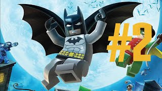 Lego Batman The VideoGame Episode 1: The Riddler's Revenge Level 2 Part 1| An Icy Reception