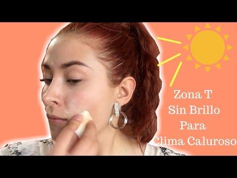 Truco polvo antes de la base / Para piel grasa y climas calurosos