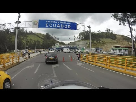 Bordercrossing Colombia Ecuador