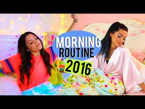 Winter Morning Routine 2016 | Niki and Gabi