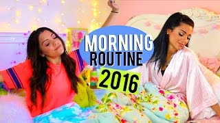 Winter Morning Routine 2016 | Niki and Gabi