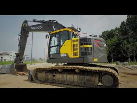 Introducing the new Volvo ECR355E crawler excavator