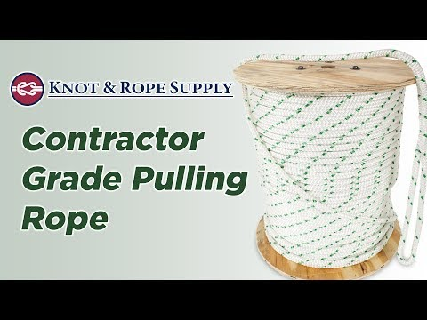 Contractor Grade Pulling Rope