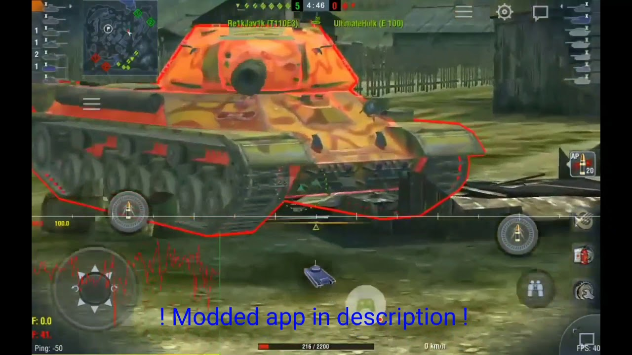 NEW - WoT Blitz - Dev Mod App Hack 2019 [ANDROID NO ROOT]