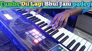 तुम्हे दिल लगी _Tumhe Dil Lagi Bhool jani padegi #Cover #Instrumental #piano #Roland #xps30 #Banjo