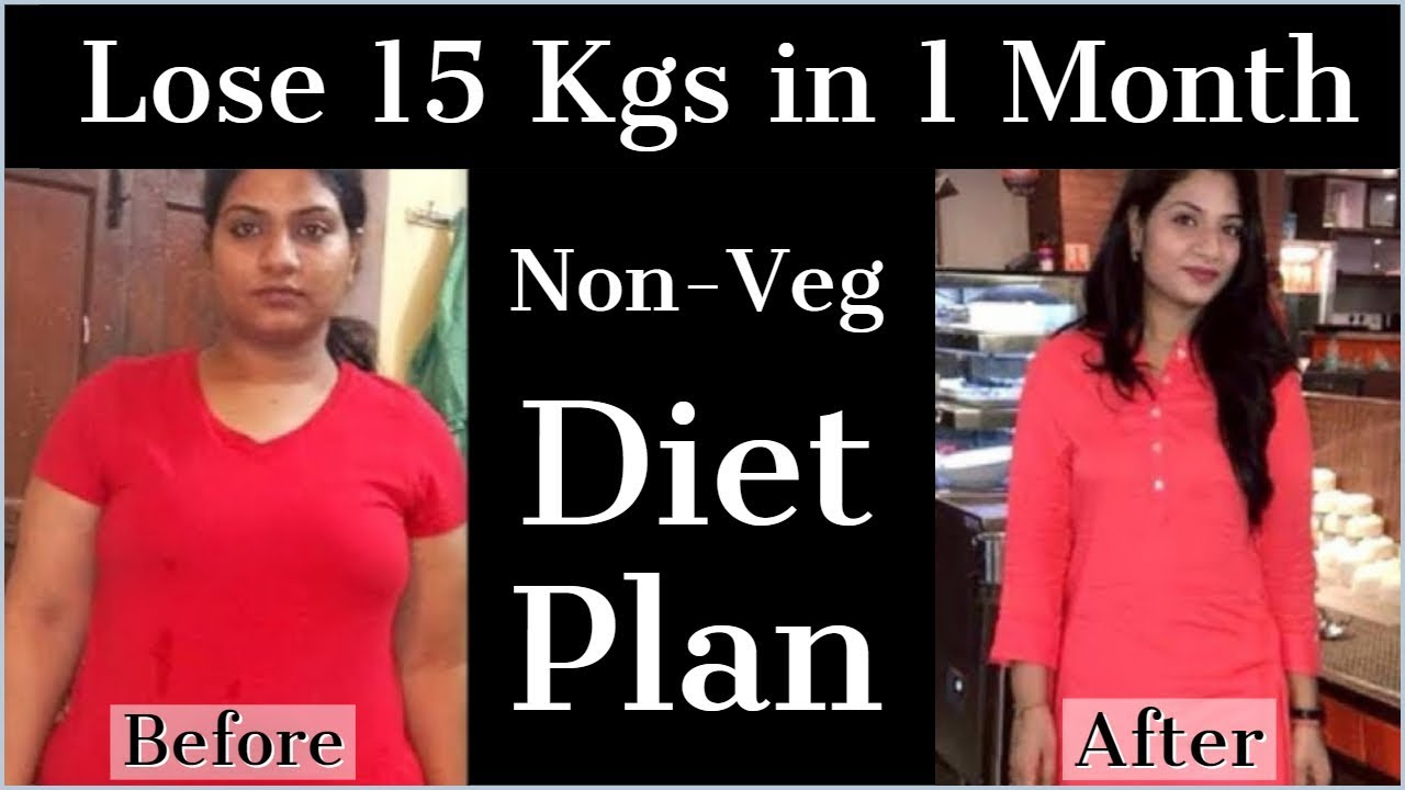 How To Lose Weight Fast 15kg In 1 Month Non Veg Weight Loss Diet Plan Fat To Fab Youtube