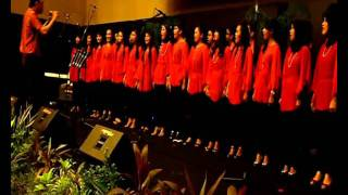 "Paduan Suara Mahasiswa (PSM UNHAS) in KONSER ""Indonesia  Jaya"".wmv"
