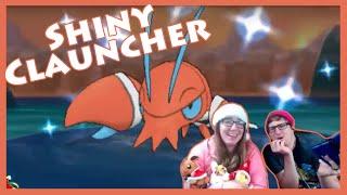 Shiny Chain Fishing - THREE Clauncher! Pokemon X [Twitch Highlight]