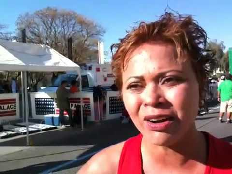 Sara Cedillo en 21k Los Barrios 2010