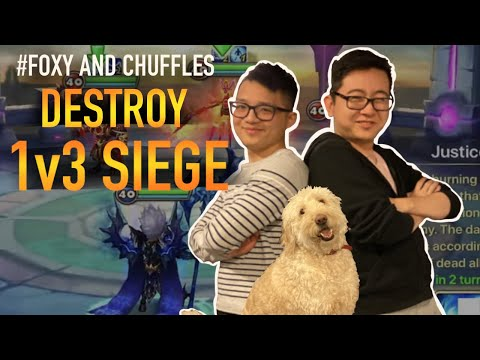 Chuffles DOES 1v3 SIEGE FARMING (OP WIN STREAK) - Summoners War