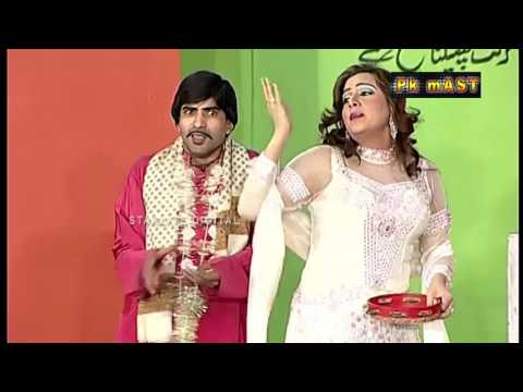 Best Of Agha Majid and Megah New Stage Drama Comedy Clip: