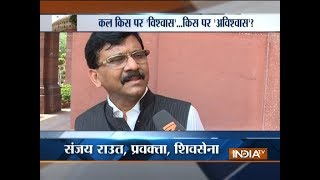 Shiv Sena will decide its course of action tomorrow, says Sanjay Raut