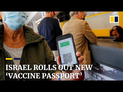 Israel's Covid-19 Vaccination 'green Pass' Launched As Country Eases Restrictions
