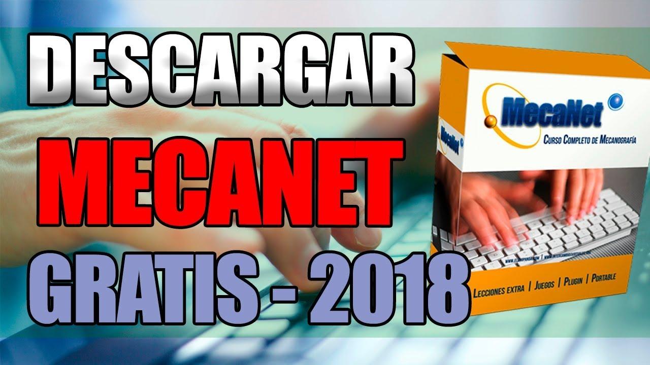 Descargar Mecanet Gratis 2018 Curso De Mecanografía Completo Youtube