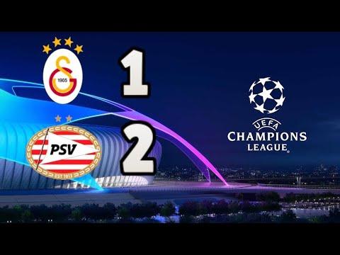 Galatasaray 1-2 PSV Özet Şampiyonlar Ligi Ön Eleme Rövanş Maçı